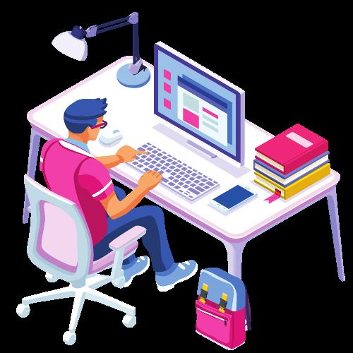 Developer using GitOps